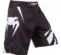 Venum Challenger fight short black-white