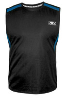 Bad Boy Fitness Tech Tank Top - Charcoal/Blue