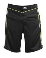 Bad Boy Fuzion Shorts - Black/Yellow
