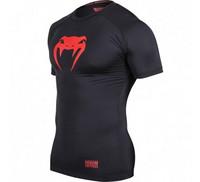 Venum Contender Compression T-shirt - Red Devil - Short Sleeves