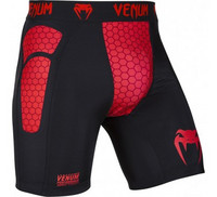 Venum Absolute Compression Shorts - Black/Red