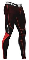 Bad Boy Sphere Compression Leggings- Black/ Red