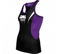Venum Body Fit Tank Top - Black/Purple