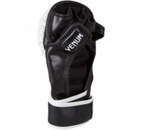 Venum Elite Sparring MMA Gloves - Ice/Black/Red