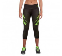 Venum Razor Leggings - Black/Yellow
