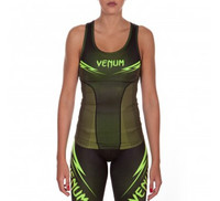 Venum Razor Tank Top - Black/Yellow - For Women