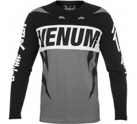 Venum Revenge T-shirt - Long Sleeves - Grey