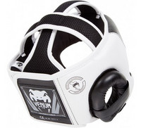 Venum Challenger 2.0 Headgear - Hook & Loop Strap - Black/Ice