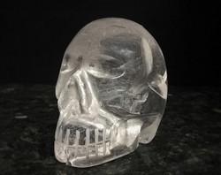 Pääkallo, vuorikristalli 60 mm