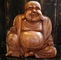 Iloinen Buddha 17 cm