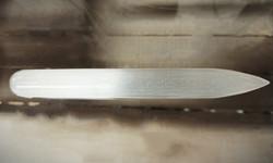 Hoitosauva seleniittiä, pyöreä/terävä 16 cm