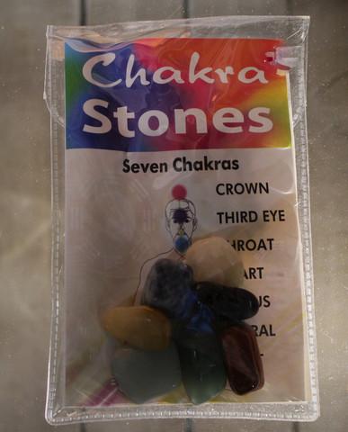 Chakrakivet pussissa