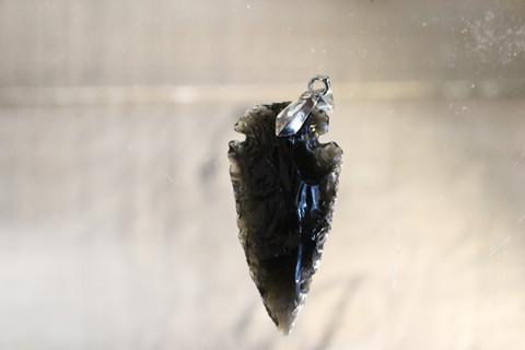 Obsidiaani, riipus 40 mm