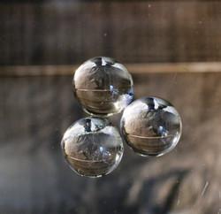 Vuorikristalli, kuula 20 mm