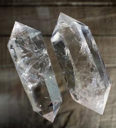 Vuorikristalli, kaksikärkinen 75-100 mm