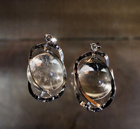 Spiraaliriipus, vuorikristalli 20 mm