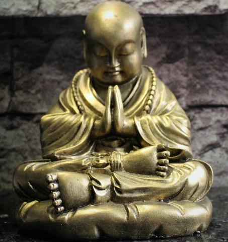 Buddha, kulta 230 mm