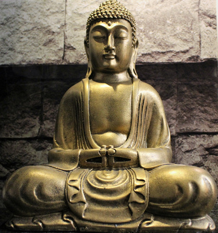 Buddha, kulta 300 mm