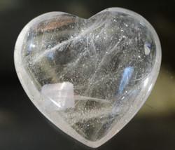 Vuorikristalli, sydän 40mm