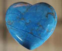 Sydän, värjätty howliitti 40 mm