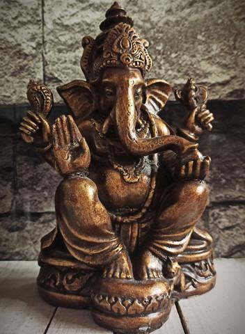 Ganesha 250 mm, pronssi