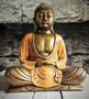 Buddha 200 mm pronssi/oranssi
