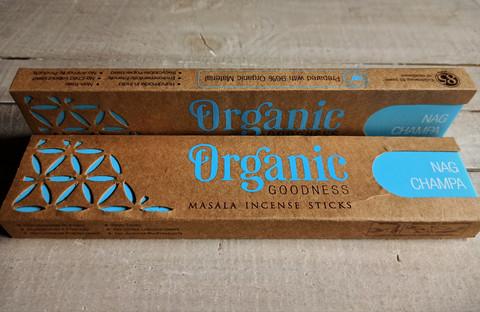 Nag champa, organic 15 g