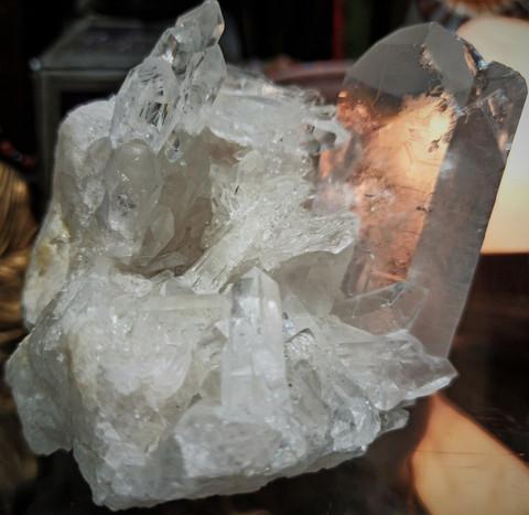 Vuorikristalli, sykerö 90/90/80 mm
