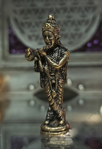 Krishna, messinkiä 40 mm