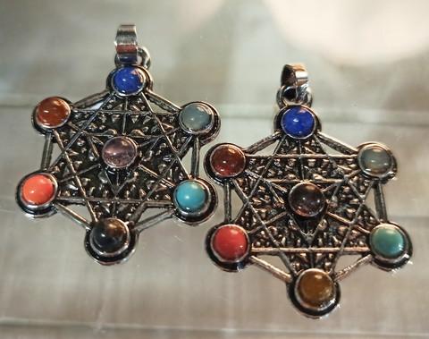Chakrariipus, kivet/metalli 30 mm