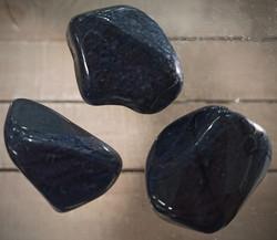 Dumortieriitti rumpuhiottu, koko n. 45 mm