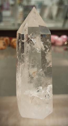 Vuorikristalli, kärki, AA-laatu, korkeus 90 mm