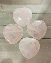 Ruusukvartsi sydän, 40 mm