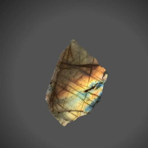 Labradoriitti, liuska 40/30 mm