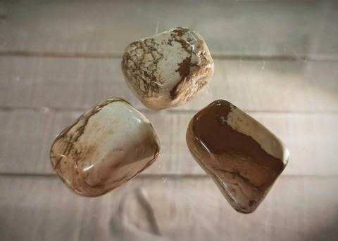 Rumpuhiottu kivi, maisemajaspis, XL-koko 30 mm
