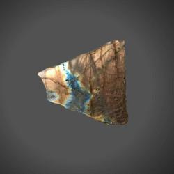 Labradoriitti, liuska 40/40 mm