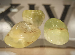 Rumpuhiottu kivi, epidoottia prehniitissä