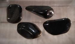 Rumpuhiottu kivi, obsidiaani golden sheen