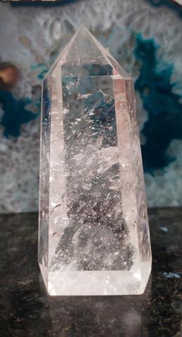 Vuorikristallikärki, ekstralaatu, 100/45/35 mm