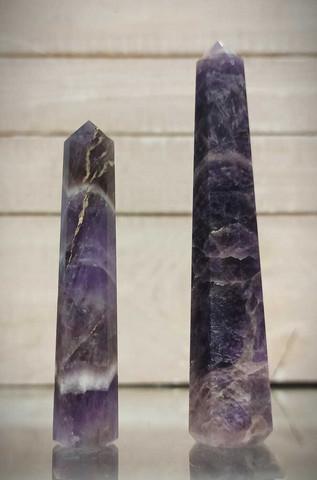 Ametisti, obeliski 70-105 mm