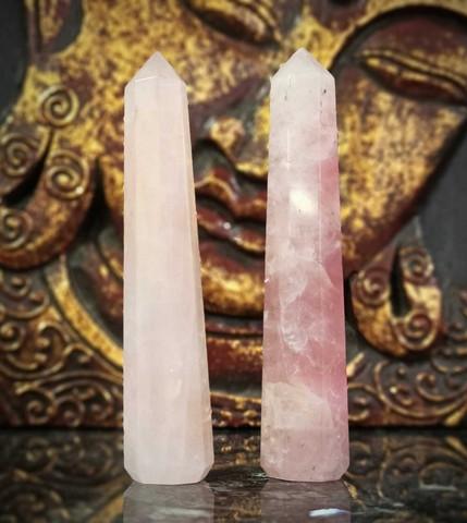 Ruusukvartsi, obeliski 75-105 mm