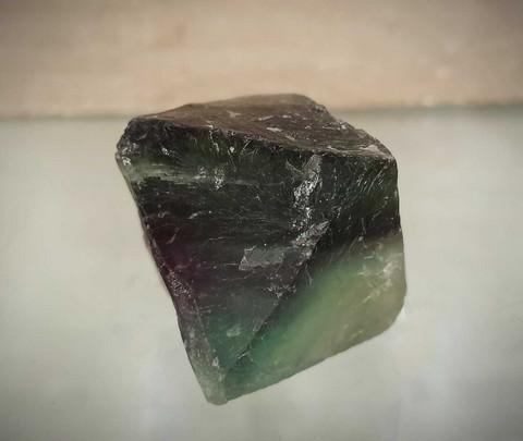 Fluoriitti, oktaedri 55/55 mm