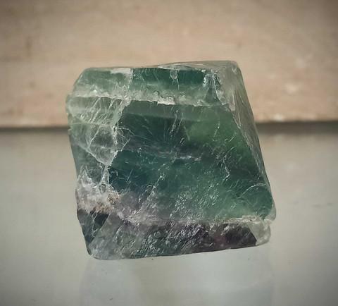 Fluoriitti, oktaedri 50/45 mm