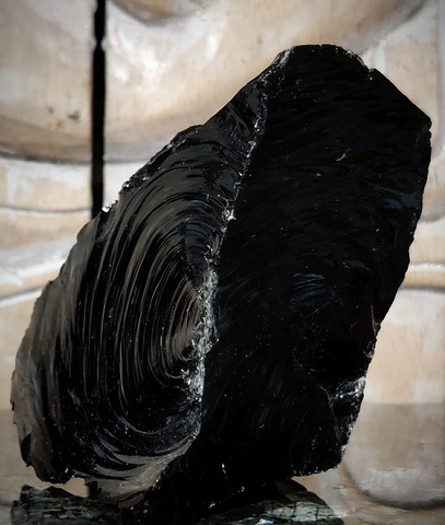 Obsidiaani, raakakivi 75/70 mm