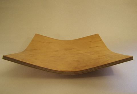 Visakoivuinen tarjoiluvati, neliö 30*30 cm