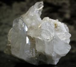 Vuorikristalli, klusteri 90/80/80 mm