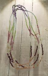 Kaulakoru chakrakivet 44 cm