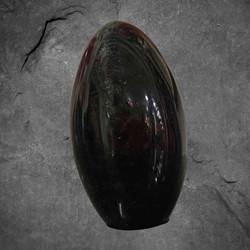 Musta turmaliini, n. 60/45/30 mm