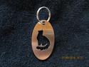 Keychain oval