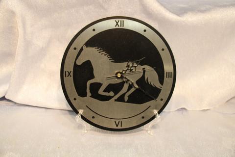 Clock Icelandic Horse
